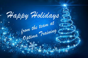 Happy Holidays from the team at Optima Training.